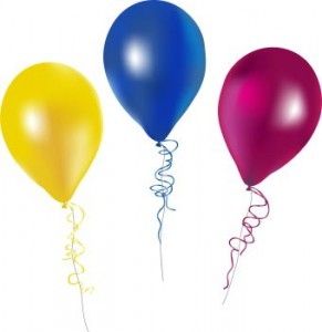 Free birthday balloon clip art clipart images 6