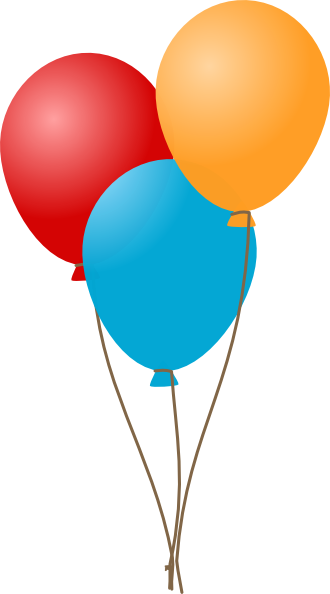 Free birthday balloon clip art free clipart images 5