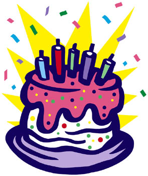 Free birthday cake clip art clipart images 3