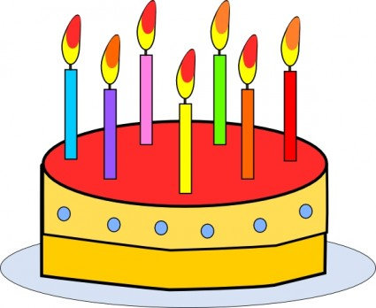 Free birthday cake clip art clipart images 4