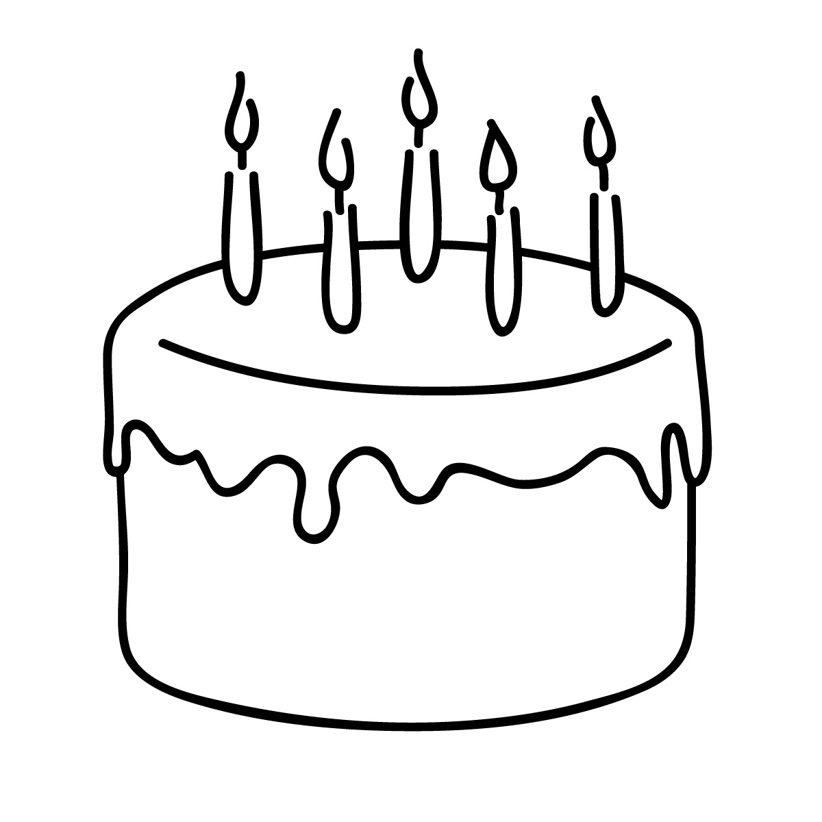 Free birthday cake clip art clipart images 5