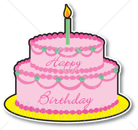 Free birthday cake clip art clipart images 6