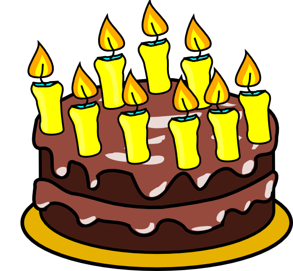 Free birthday cake clip art clipart images 8