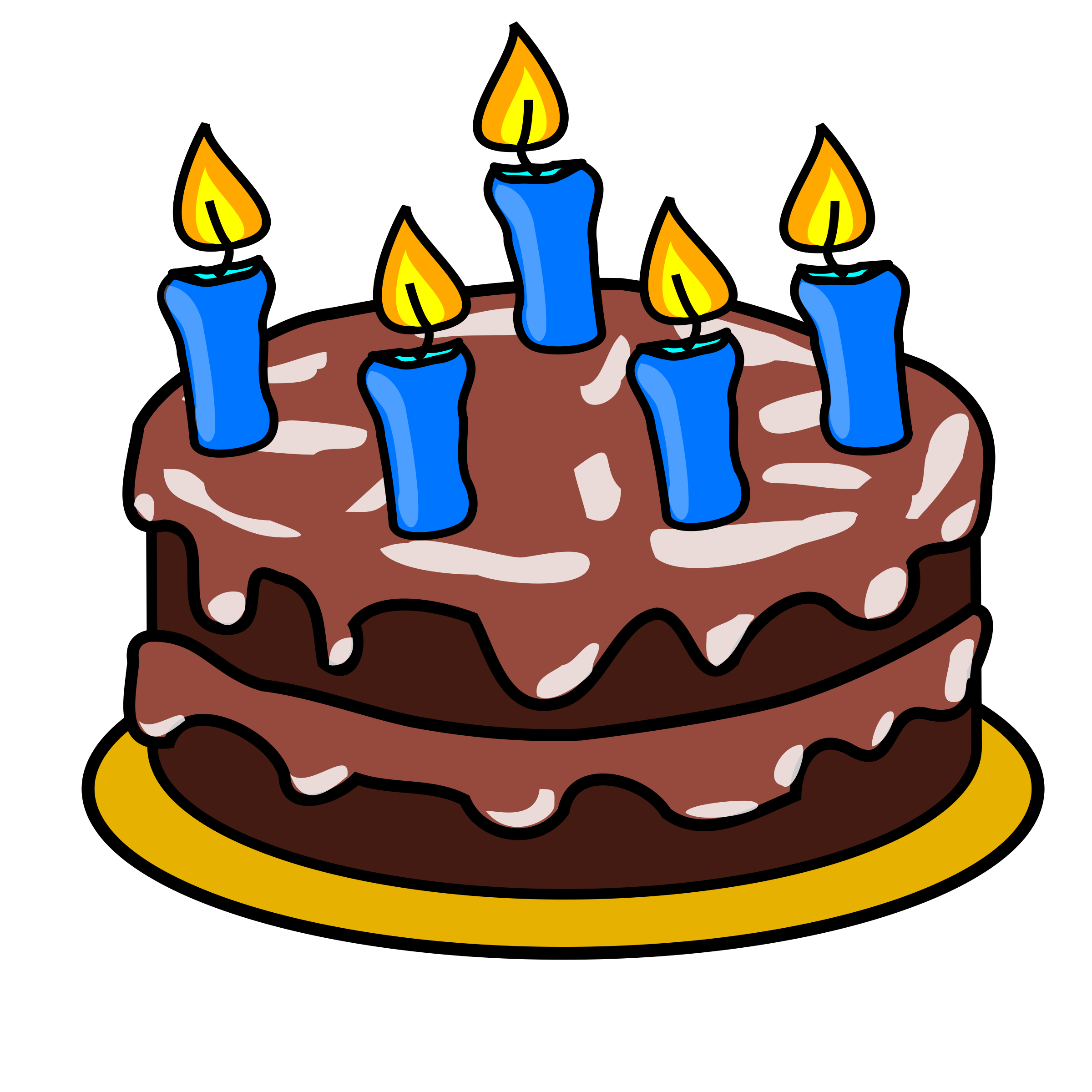 Free birthday cake clip art clipart images