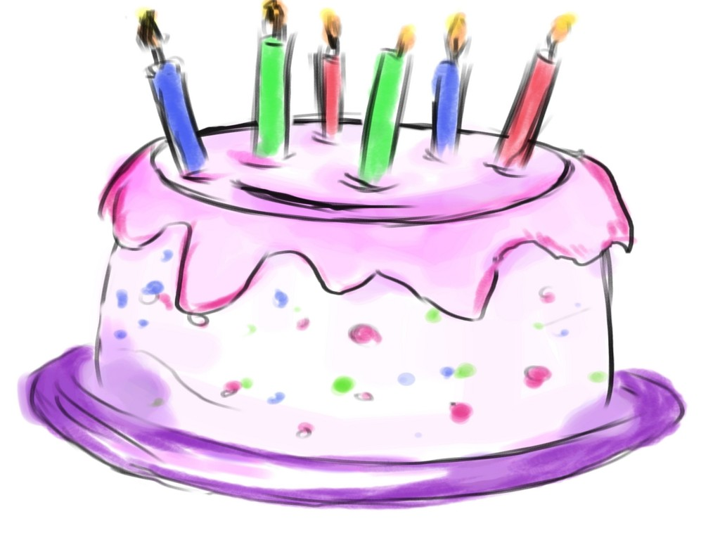 Free birthday cake clipart first