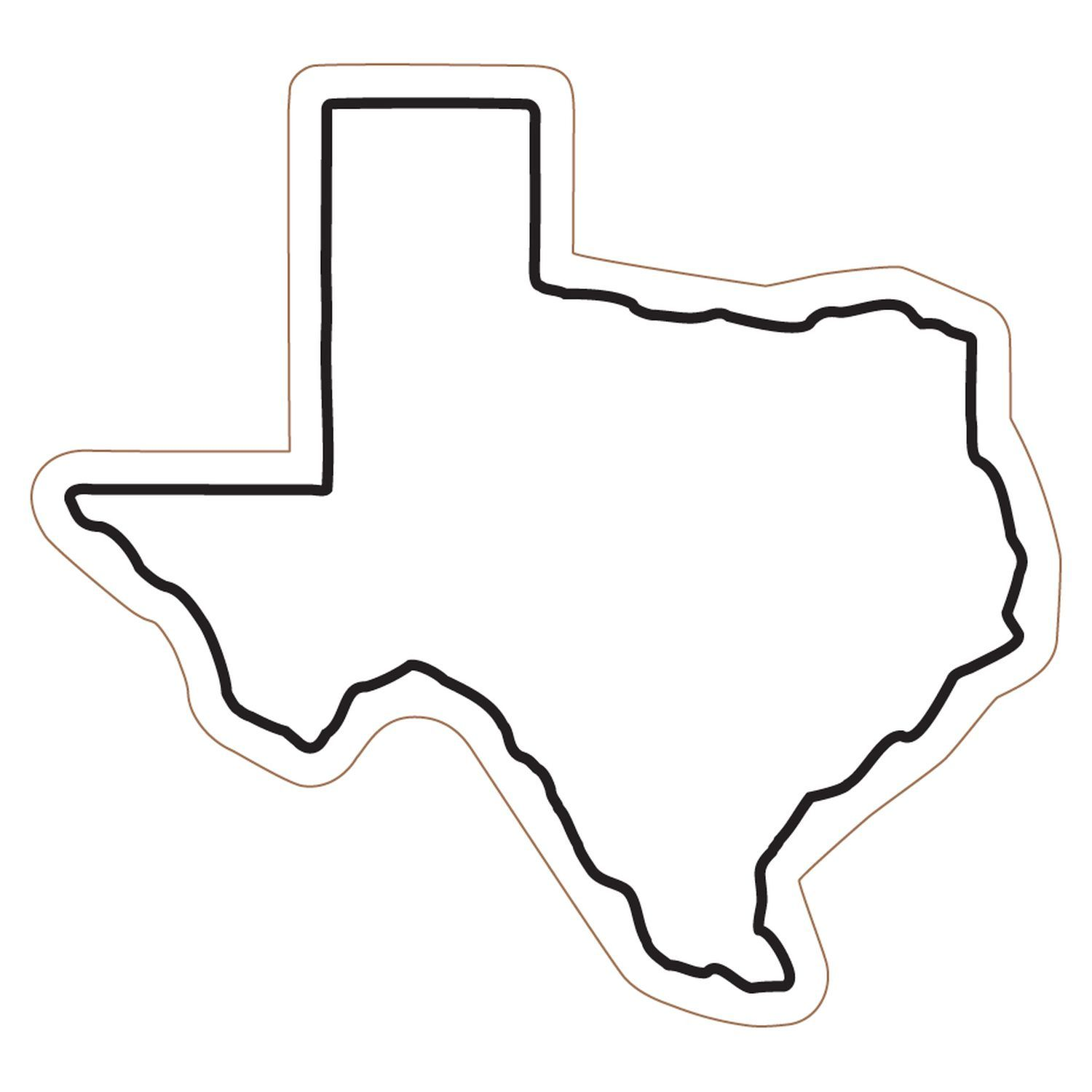 Free clipart of outline texas clipart 3
