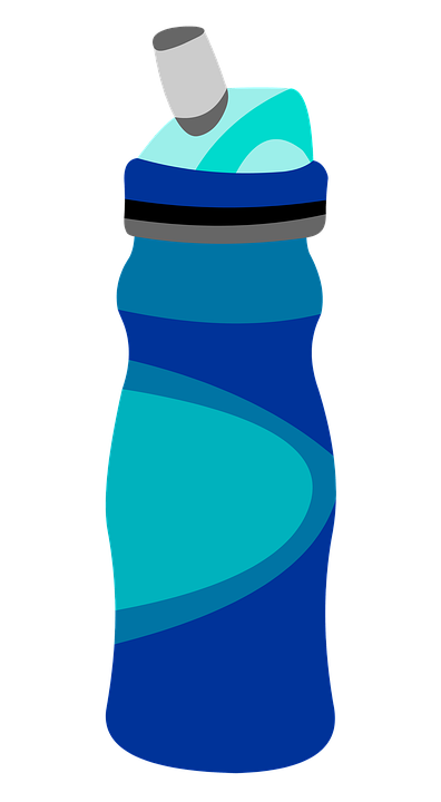 Free illustration water bottle graphic image on clip art
