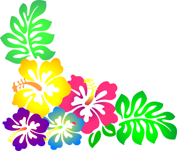 Free luau clip art pictures