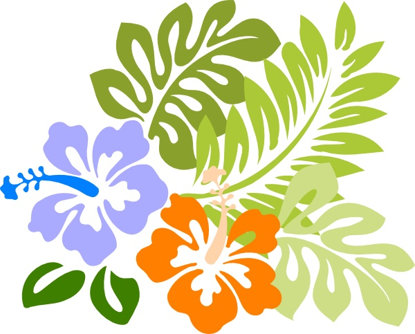 Free luau clipart download clip art on