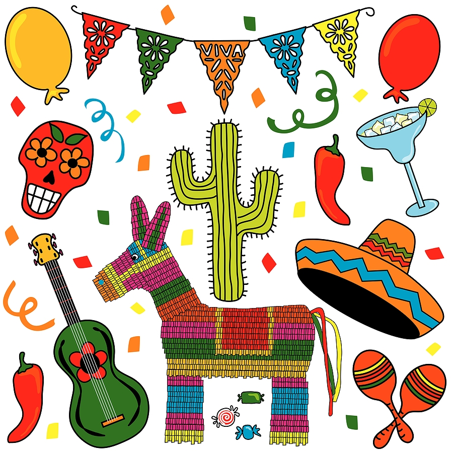 Free mexican food clipart images