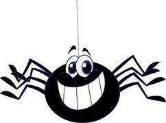 Free spider clip art pictures 3