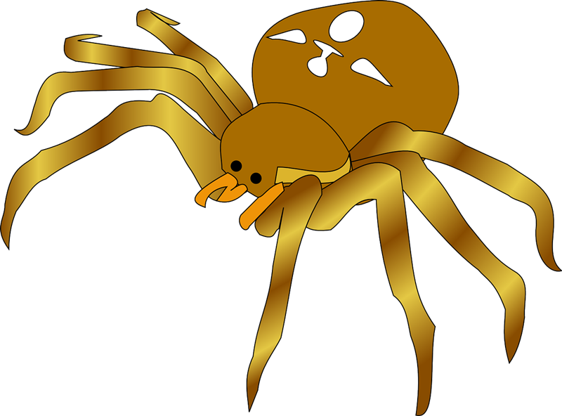 Free spider clip art pictures 4