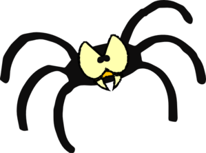 Free spider clip art pictures 6