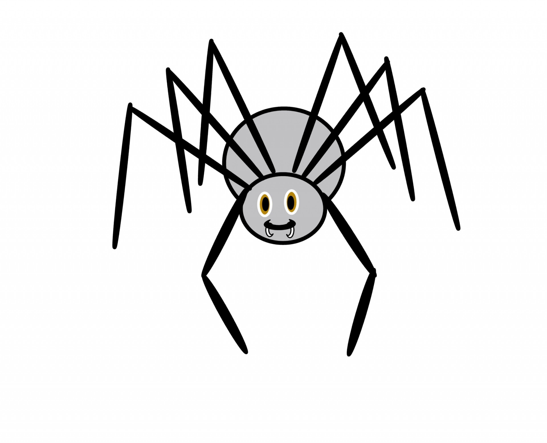 Free spider clip art pictures