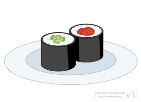 Free sushi clipart 1 page of clip art 3