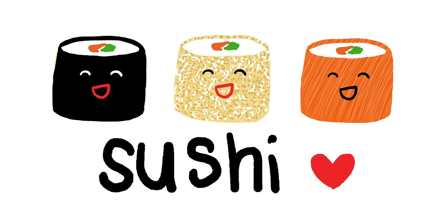 Free sushi clipart food clip art