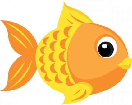 Goldfish clipart 4