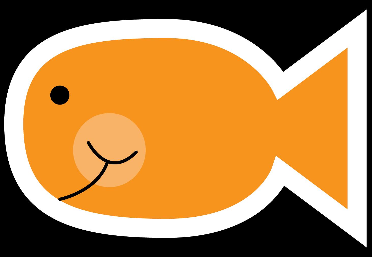 Goldfish clipart 6