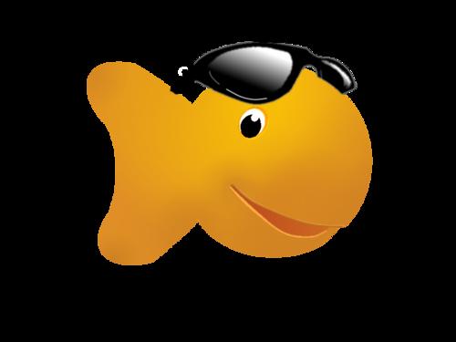 Goldfish clipart 8