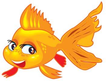 Goldfish clipart 9