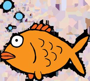 Goldfish gold fish clip art 2