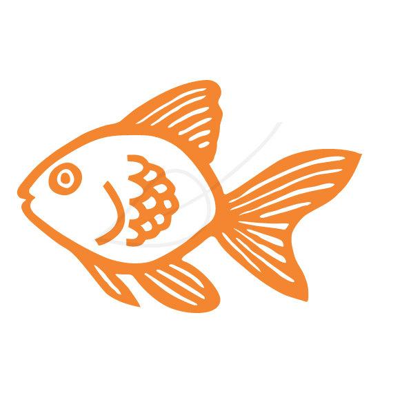 Goldfish gold fish clip art 3