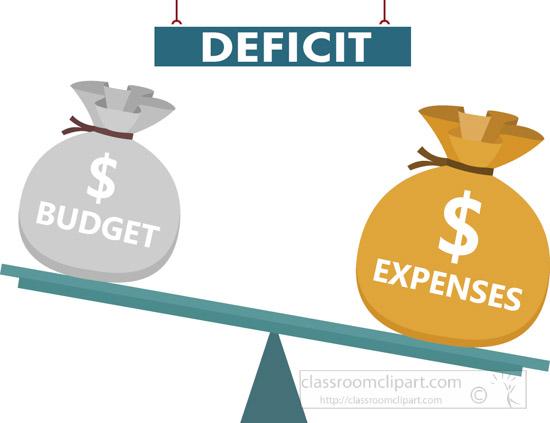 Government clipart budget deficit clipart 2