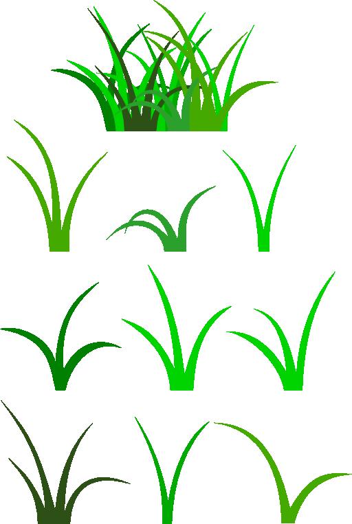 Grass clip art clipart image