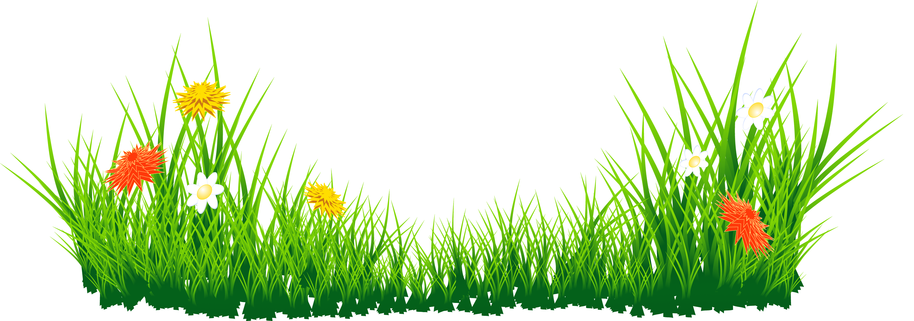 Grass clipart black and white free images 2