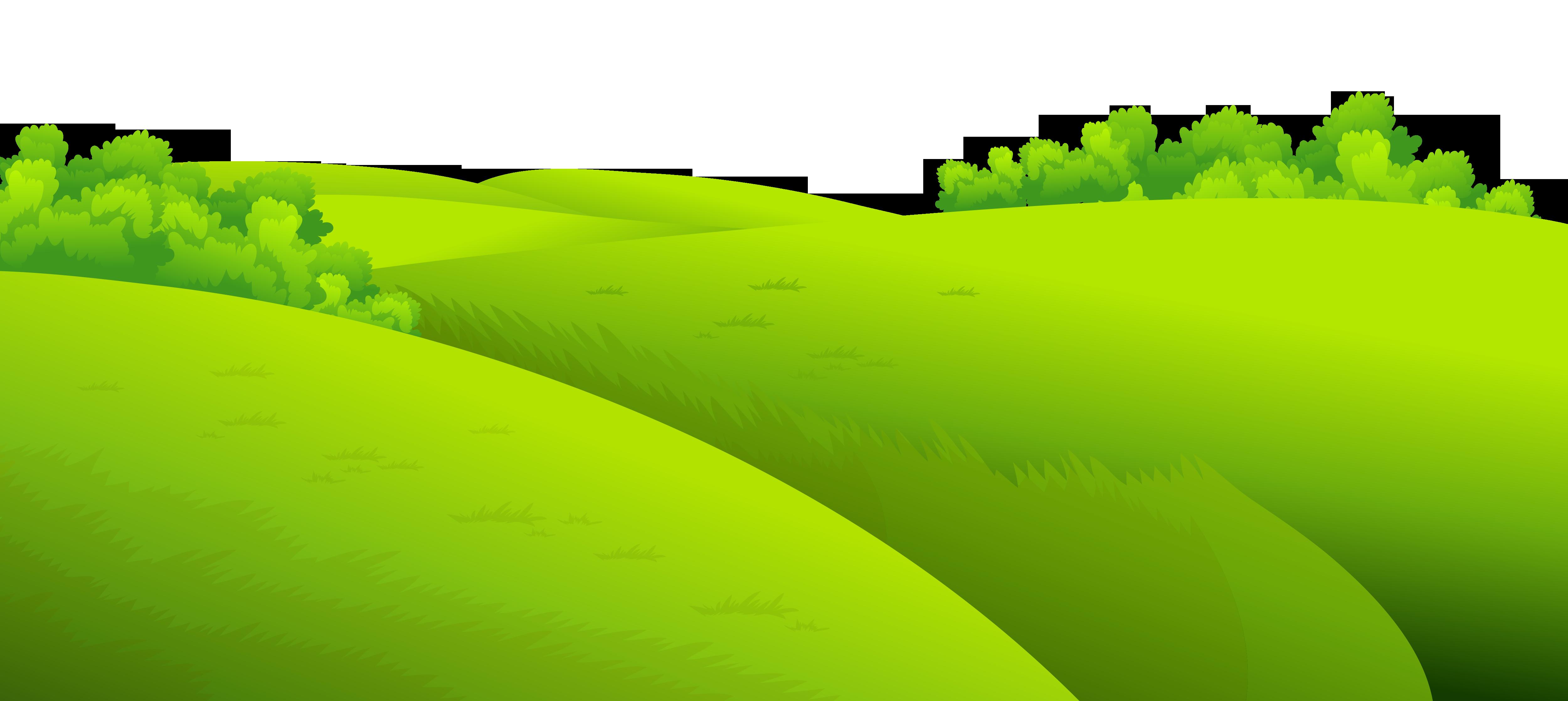 Green grass background clipart