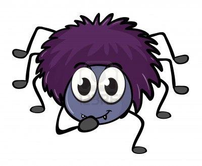 Halloween spider clipart