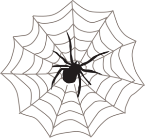 Hanging spider clipart free images 5