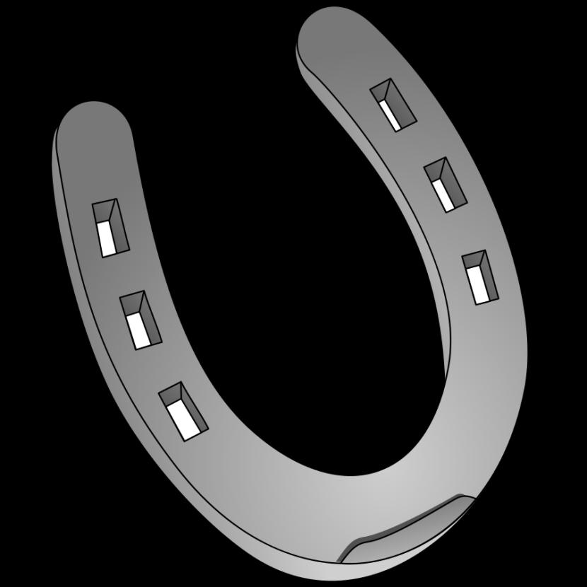 Horseshoe clipart 2