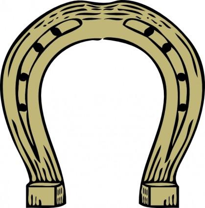 Horseshoe clipart 3