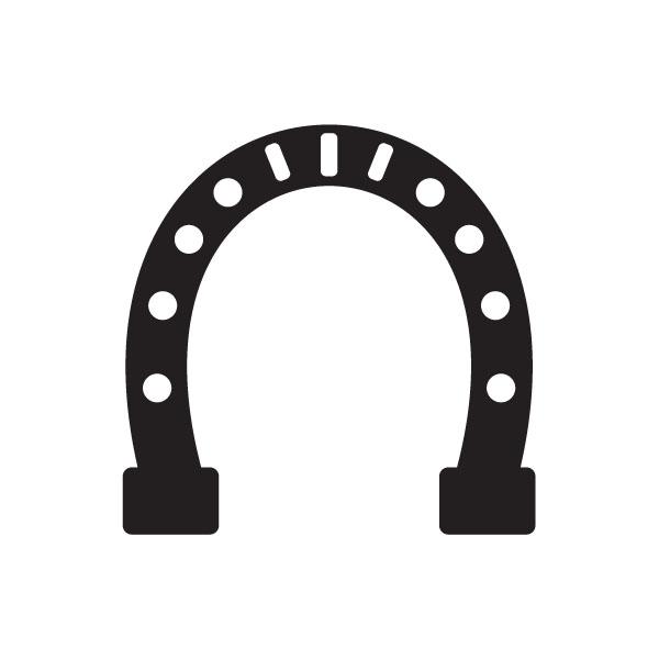 Horseshoe horse shoe clip art clipart