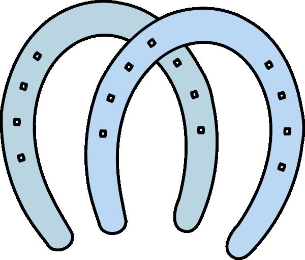 Horseshoe horse shoe clip art vector free clipart