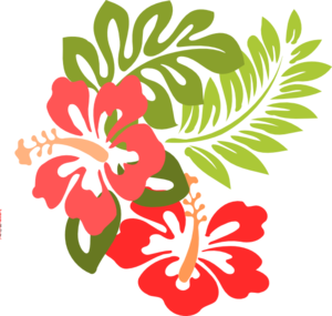 Luau clip art and borders free clipart images