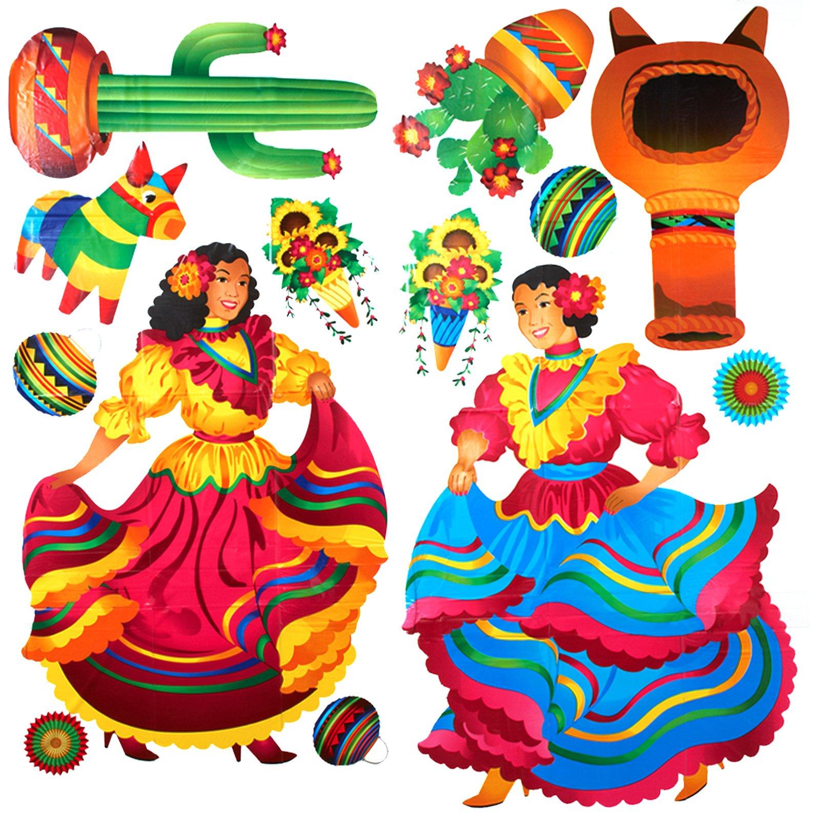 Mexican fiesta border clip art free clipart