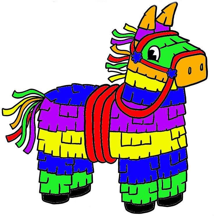 Mexican pinata clipart star 2
