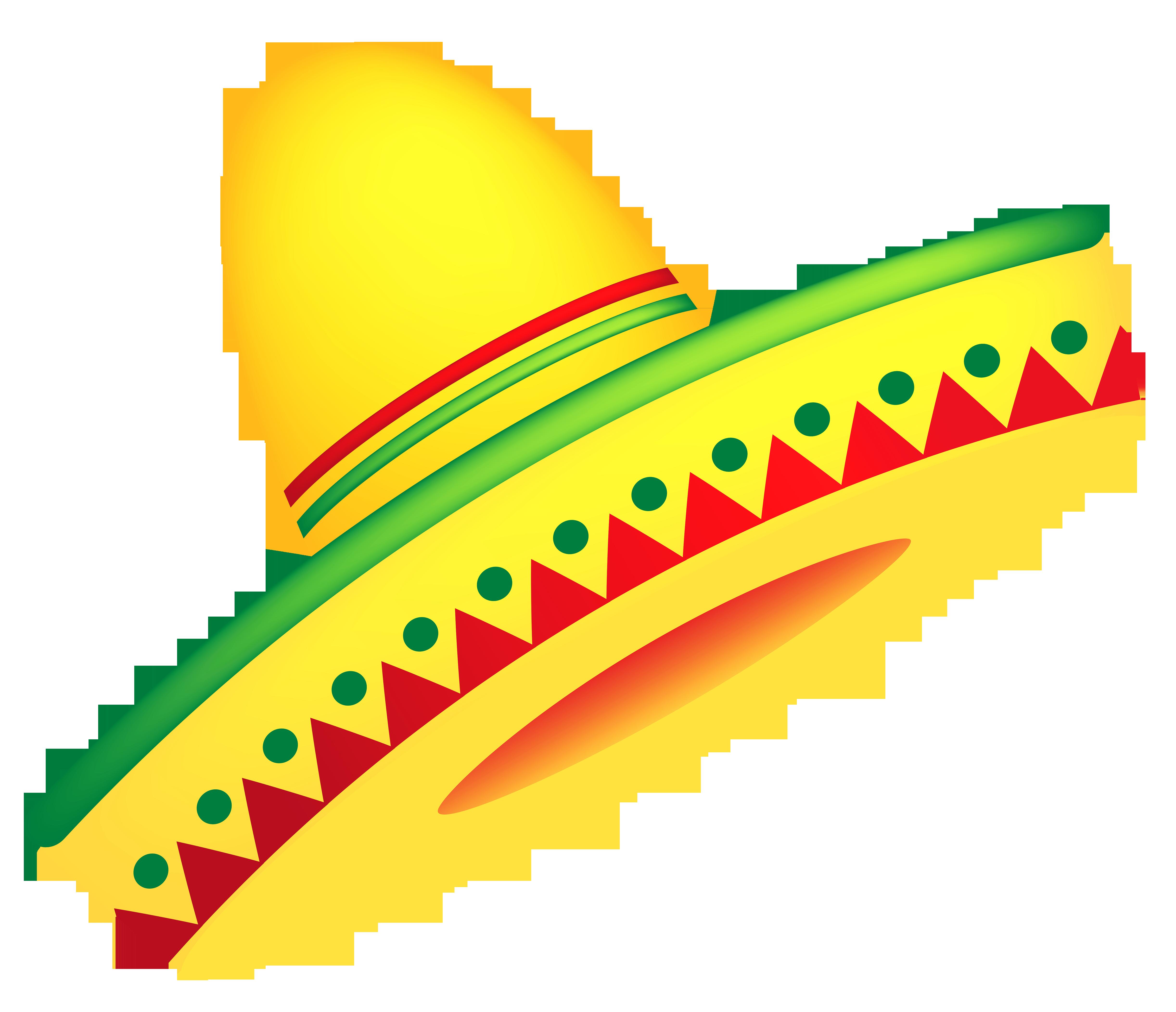 Mexican sombrero clipart free