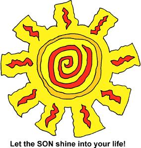 Mexican sun clipart