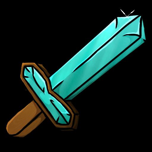 Minecraft sword clipart