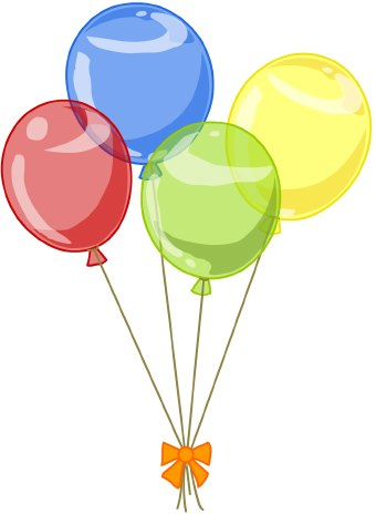 Party balloons clipart free images