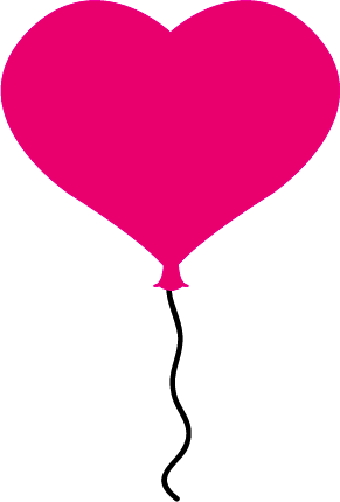 Pink balloons clipart free images