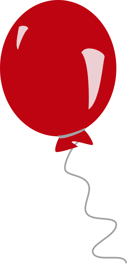 Red balloon clipart free images 4