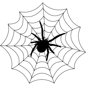Spider clip art free