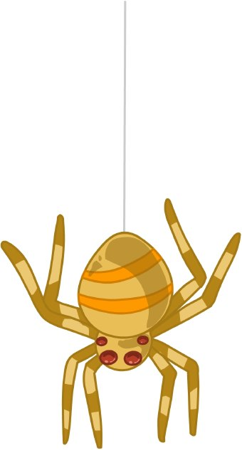 Spider clipart black and white free images 2 2