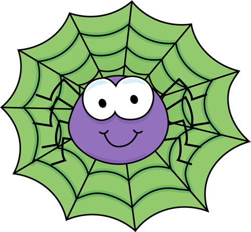 Spider web border clipart free images 9