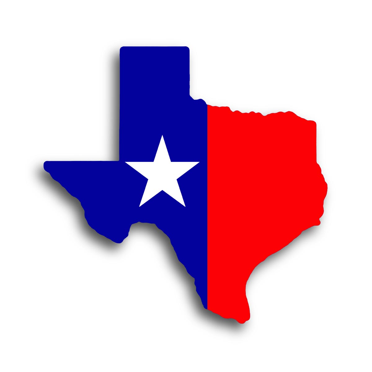 State of texas clipart 2