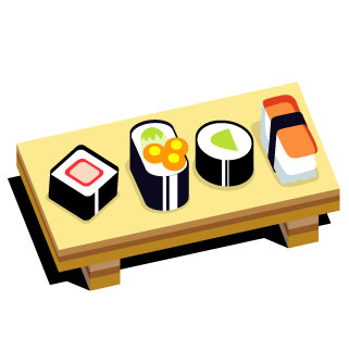 Sushi clip art free clipart images 4